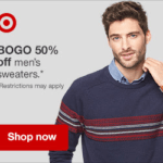 Target : Sales on Men's & Women's Sweaters, Games, and Baby Essentials + More!